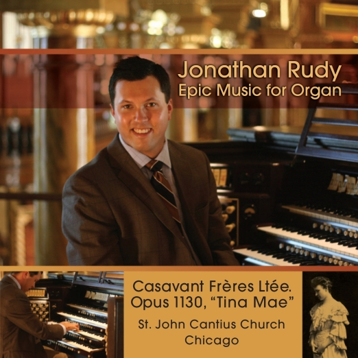 JONATHAN RUDY EPIC ORGAN MUSIC CD IMAGE